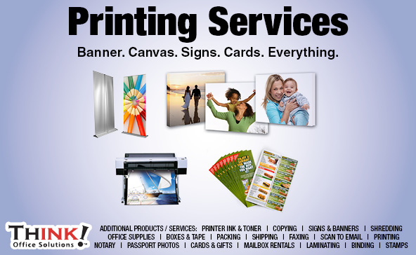 Printing Business Cards,  flyersLarge format Photo Canvas Prints denver aurora centennial Pueblo co
